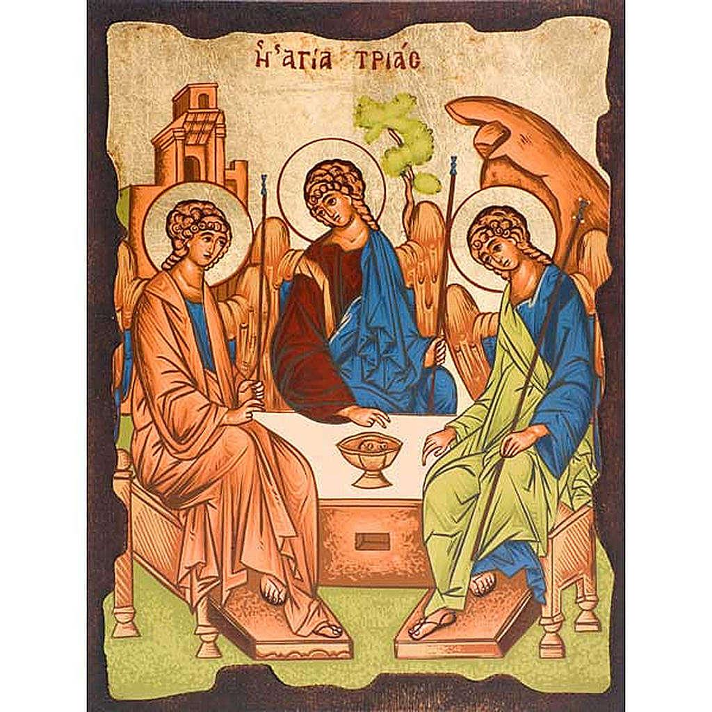 Ikone Dreieinigkeit von Rublev aus Griechenland 4