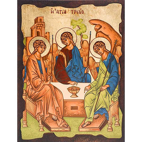 The Holy Trinity of Rublev 1