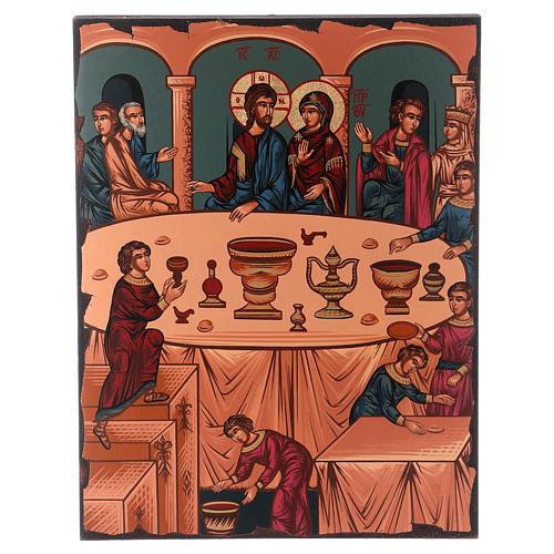 Icona nozze di Cana 1