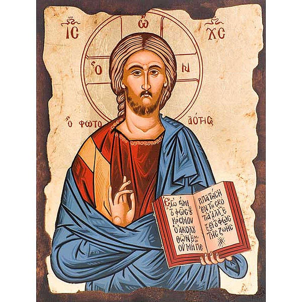 Icona Cristo Pantocratore Grecia 4