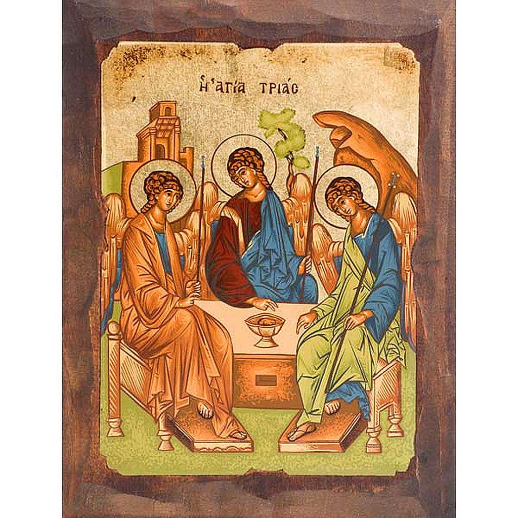 Icona SS. Trinità di Rublev 4
