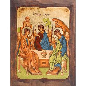 Icona SS. Trinità di Rublev s1