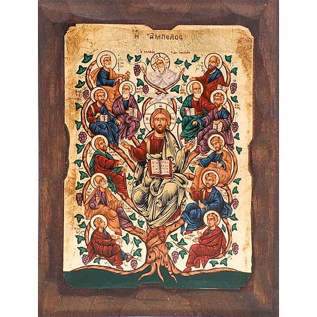 Icona Albero di Gesù dodici apostoli 4