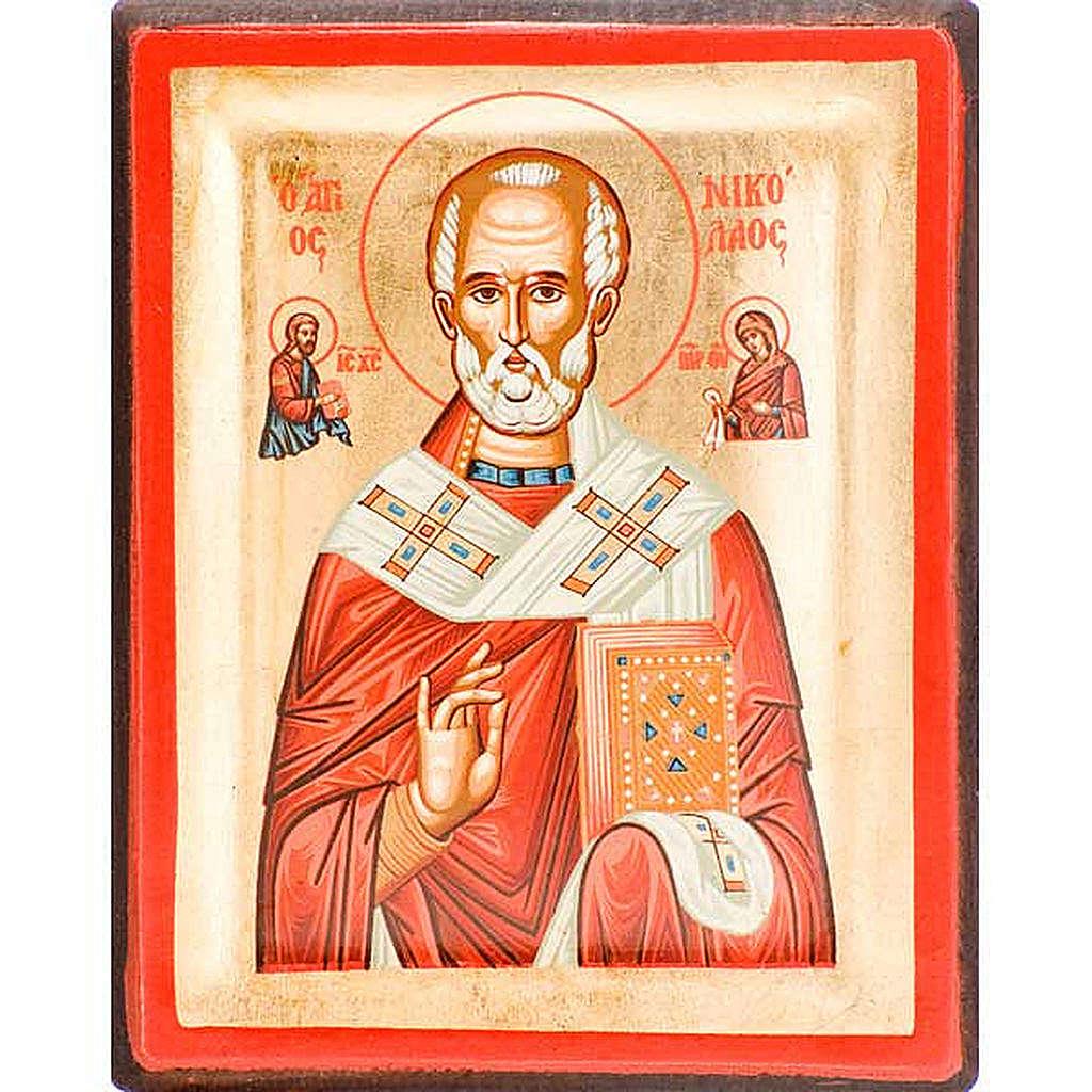 Icona San Nicola serigrafata Grecia 4