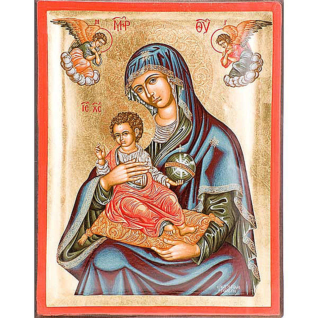 Icona Madre di Dio Grecia serigrafata 4