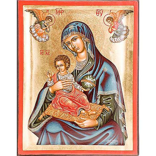 Icona Madre di Dio Grecia serigrafata 1