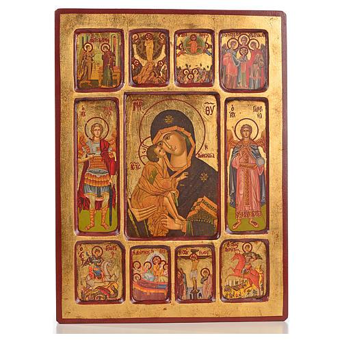 Icona Vladimir riquadri 1
