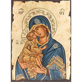 Virgen ternura manto azul s1