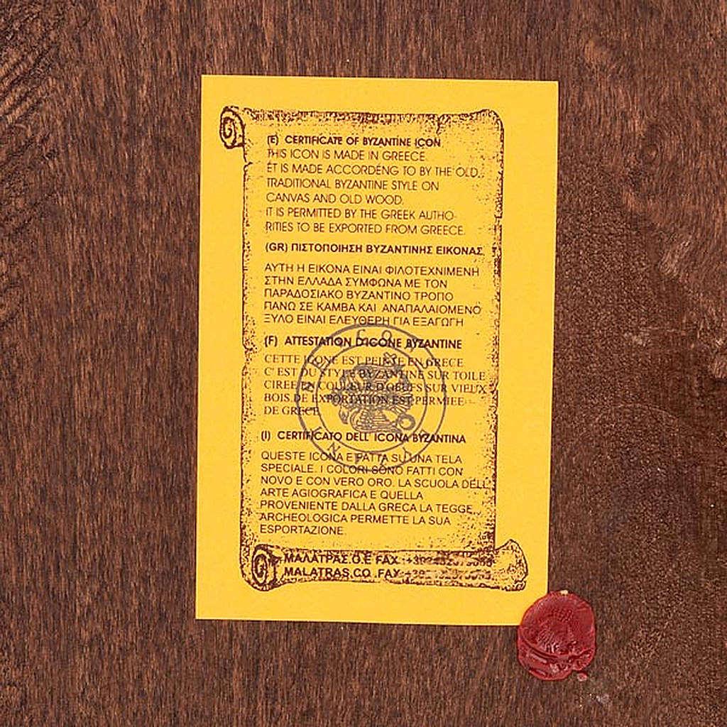 Icona San Giorgio mantello rosso Grecia 4
