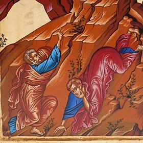 Icona Grecia serigrafata Trasfigurazione del Signore s3