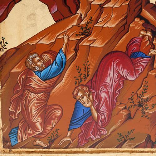 Icona Grecia serigrafata Trasfigurazione del Signore 3