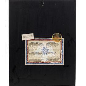Icona Grecia serigrafia Albero di Jesse 31x24 s5