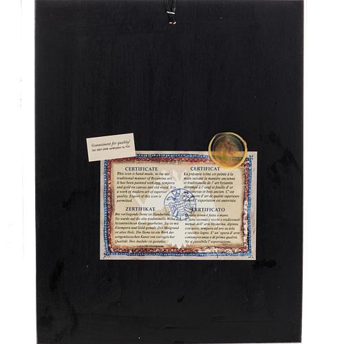 Icona Grecia serigrafia Albero di Jesse 31x24 5