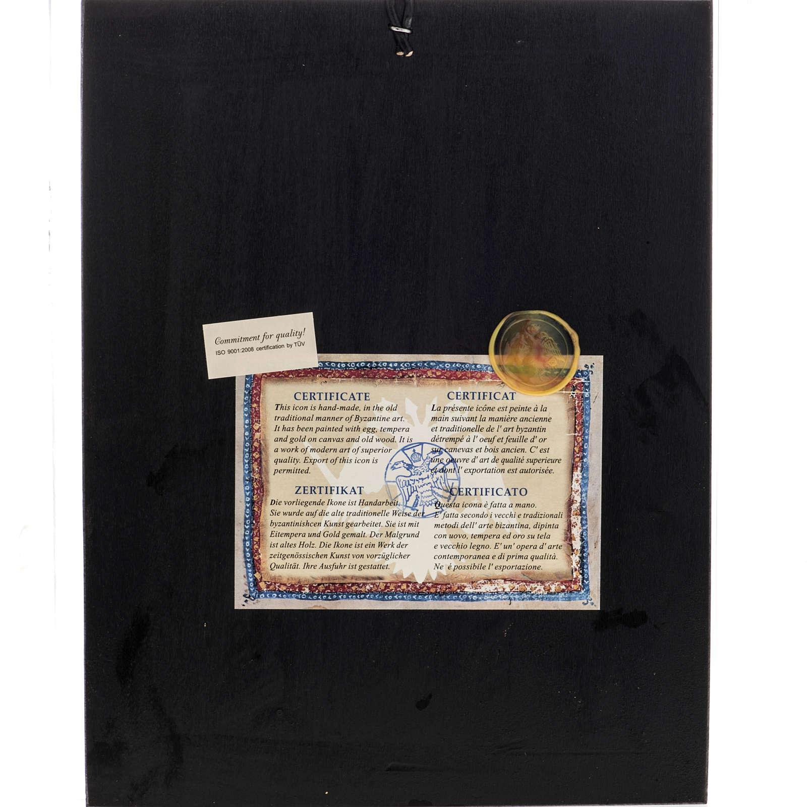 Tree of Jesse icon, Greece, silkscreen printing 31x24cm 4