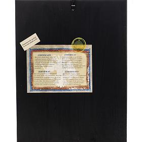 Icona Grecia serigrafia Dormizione di Maria 31x24 s4