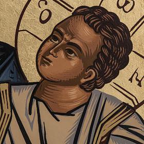 Icona Madre di Dio Eleousa Grecia serigrafia s3