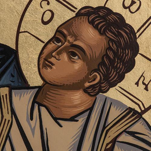 Virgin Mary Eleusa icon, Greece, silkscreen printing 3