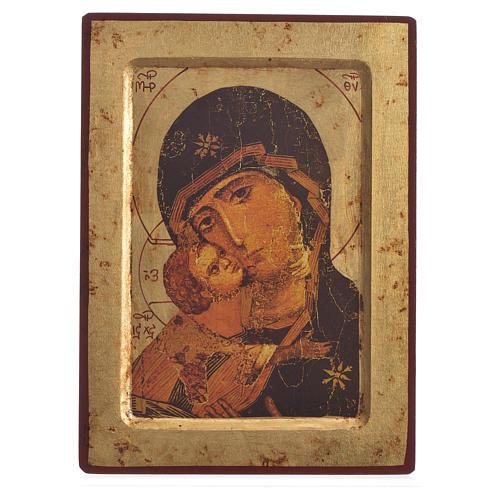 Icona serigrafata Volto della Tenerezza  Grecia 1
