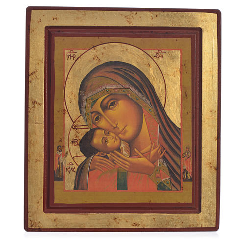 Greek Serigraph icon, Our Lady of Korsun 1