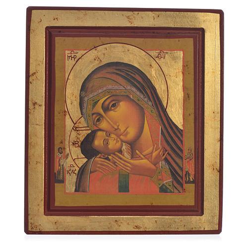 Icona Greca serigrafata Madonna di Korsun 1