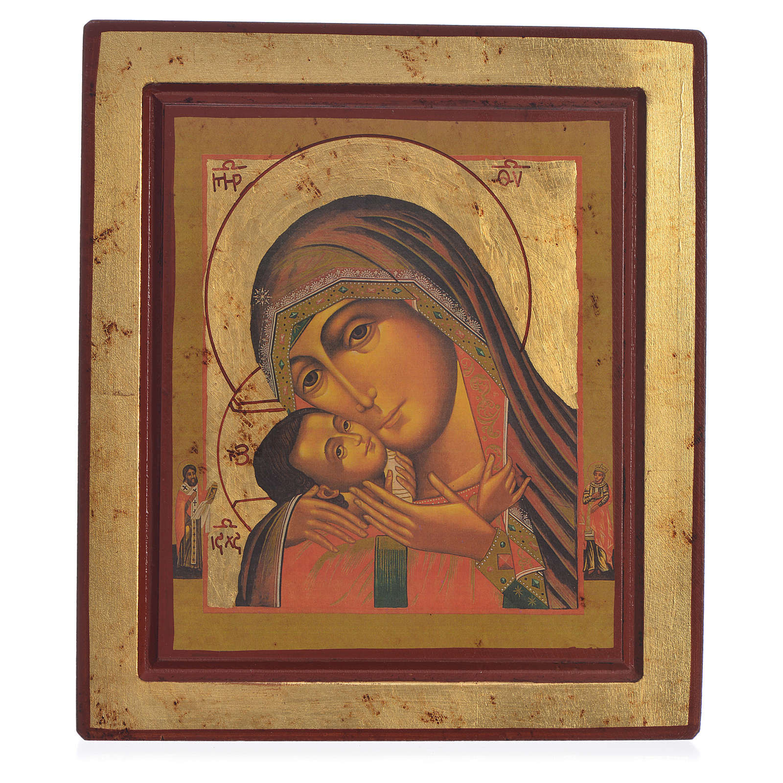 Greek Serigraph icon, Our Lady of Korsun 4