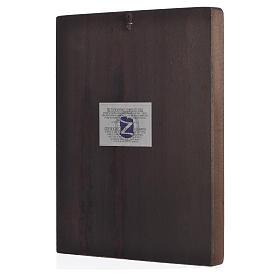 Icono serigrafado S. Familia sobre madera s2