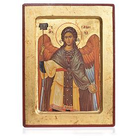 Greek Serigraphy icon, Saint Gabriel s1