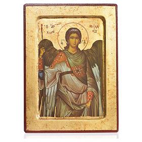 Icono serigrafado San Miguel Grecia s1