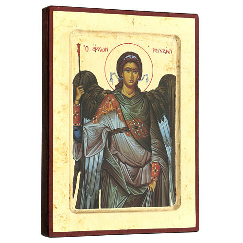 Greek Serigraphy icon, Saint Michael 3