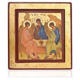 Icona serigrafata Trinità s1