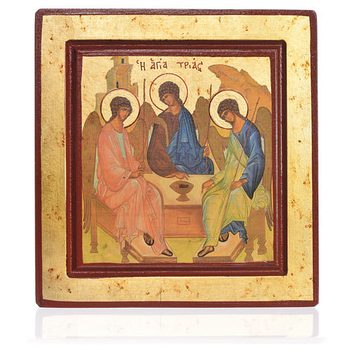 Icona serigrafata Trinità 1