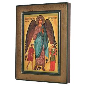 Icono griego serigrafado San Rafael s2