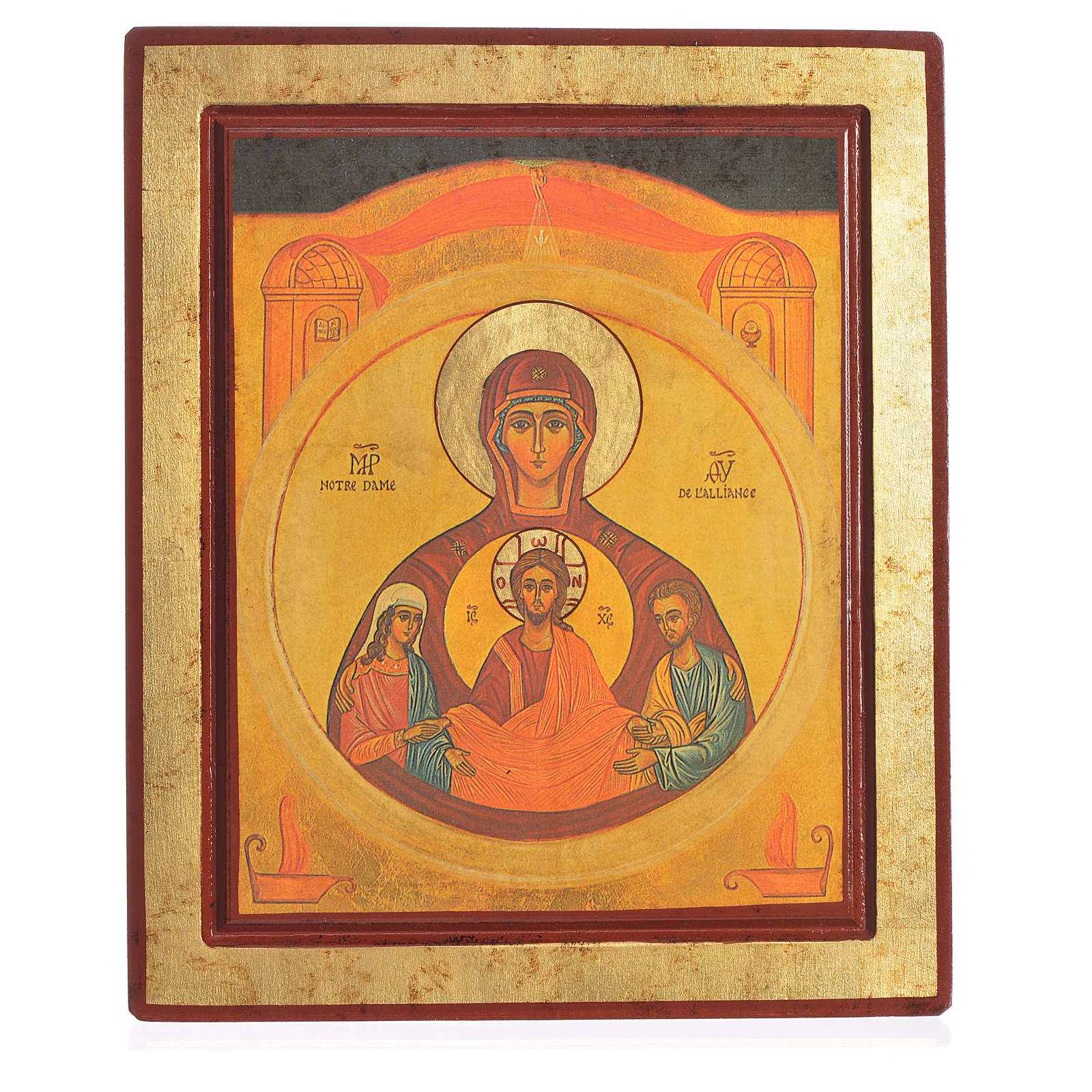 Icon of the Married couple, Greek Serigraph 4