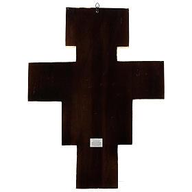 STOCK Croix Saint Damien impression sur pâte à bois 110x80 cm s12