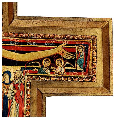 STOCK Croix Saint Damien impression sur pâte à bois 110x80 cm 9