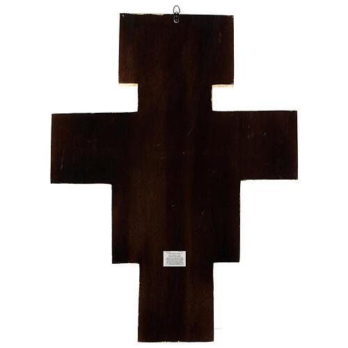 STOCK Croix Saint Damien impression sur pâte à bois 110x80 cm 12