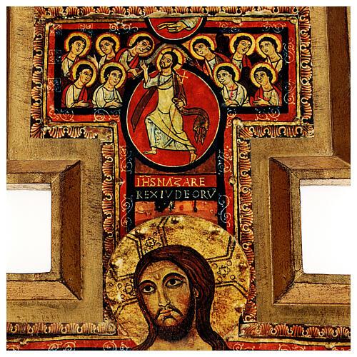 STOCK Croce San Damiano stampa su pasta di legno 110x80 cm 4