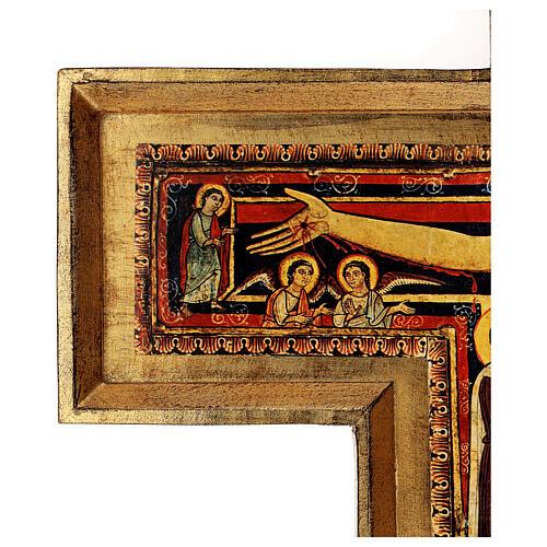 STOCK Croce San Damiano stampa su pasta di legno 110x80 cm 10