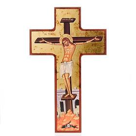 Icone a croce: Croce stampata tempio