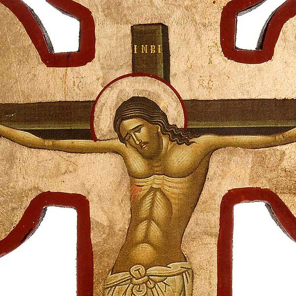 Golgota, printed cross-icon 4