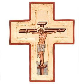 Cruz serigrafiada con incisión s1