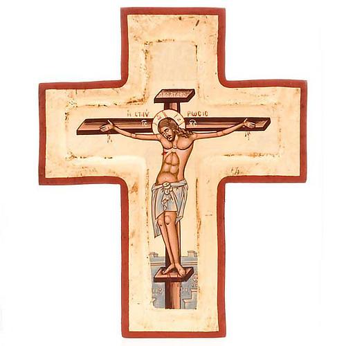 Cruz serigrafiada con incisión 1