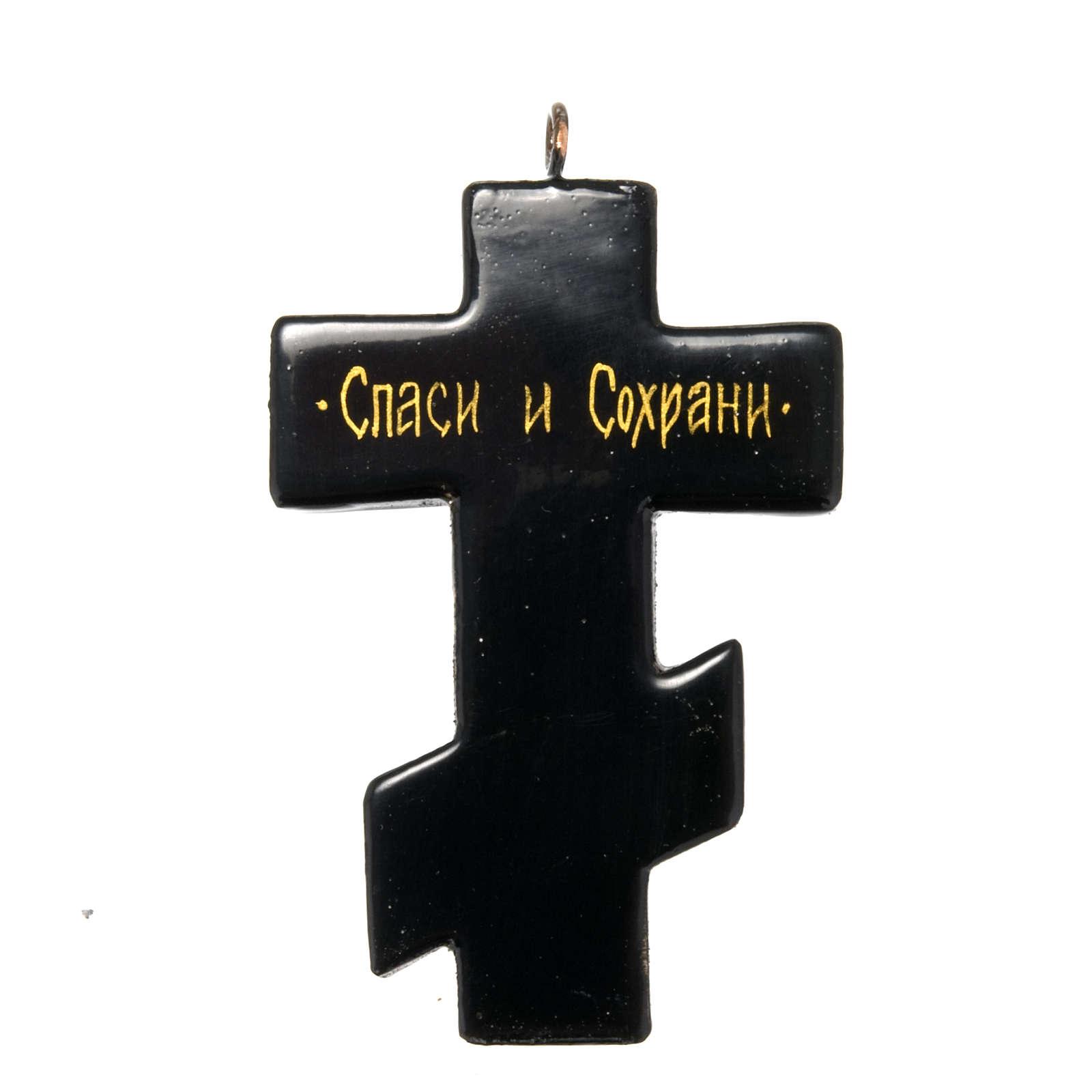 Icona croce Mstiora cm 7 4
