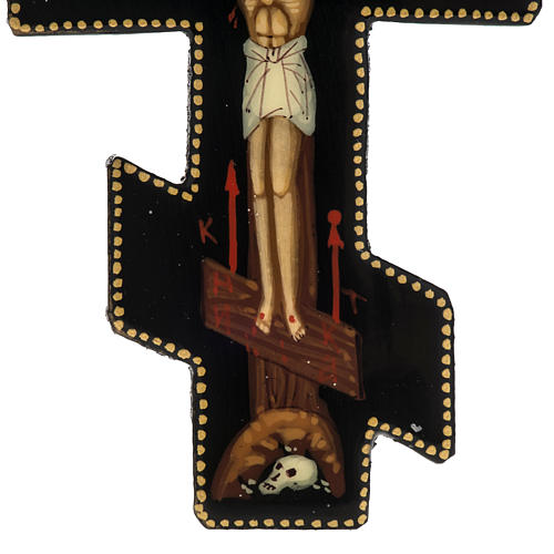 Icona croce Mstiora cm 7 5