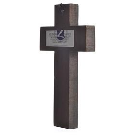 Croce Icona stampa su legno Grecia s2