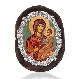 Icona argento Vergine Odighitria s1