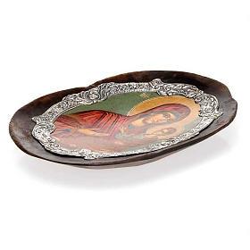 Icona argento Vergine Odighitria s2