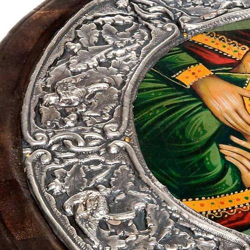 Icona argento Vergine di Kasperov 2