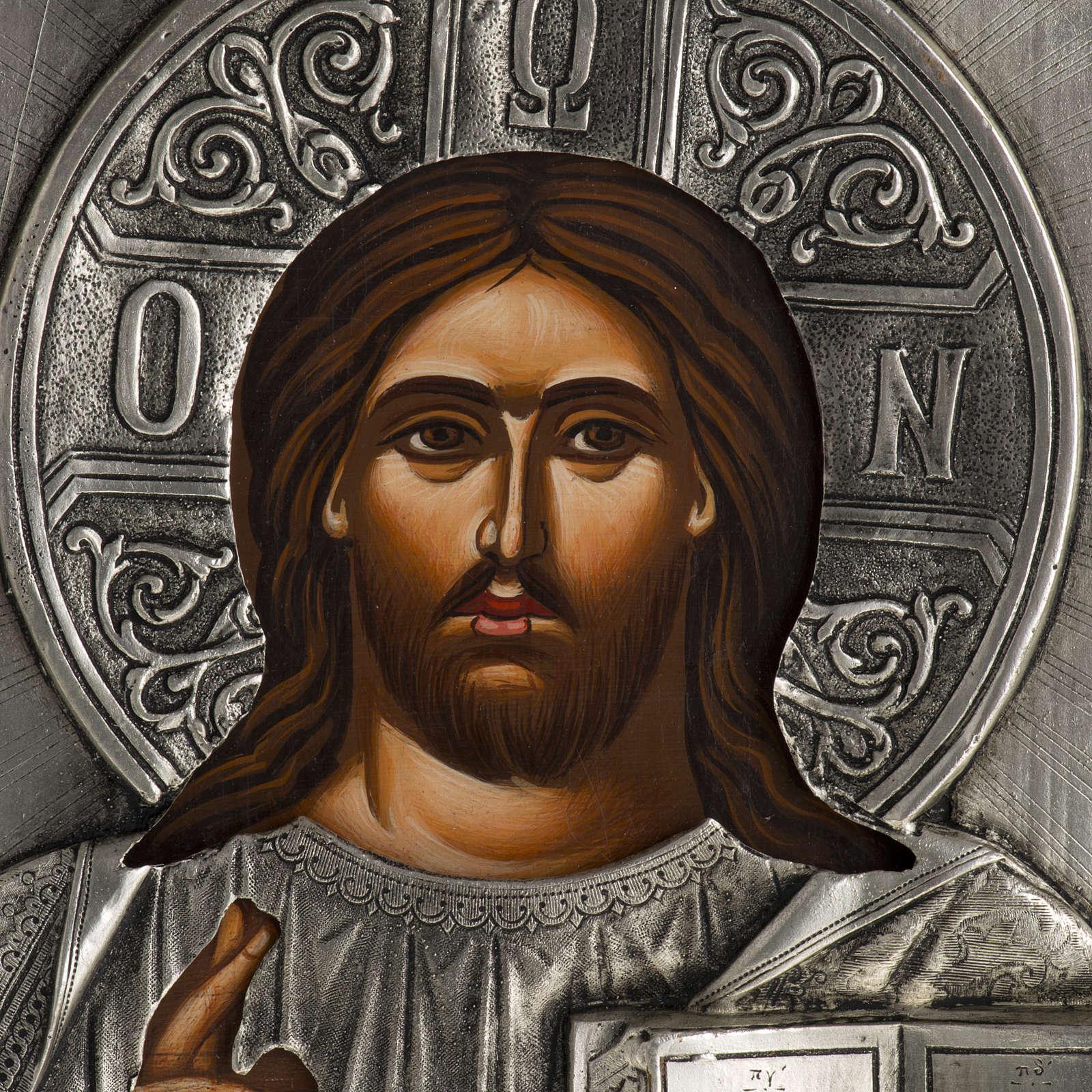 Ikona Chrystus Pantokrator 4