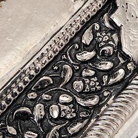 Icona Vergine di Kilskaia argentata dorata s4